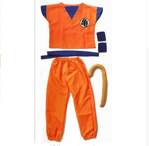 Dragon Ball Z Suit Goku Cosplay Costumes