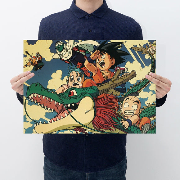 Dragon ball Vintage Poster