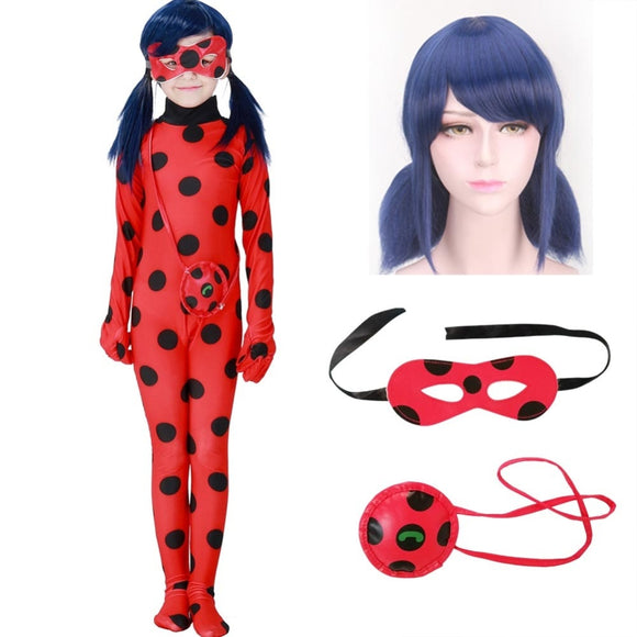 Ladybug Kid Costumes Child Little Beetle Suit