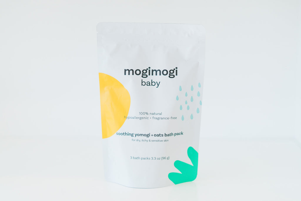 Mogimogi Baby Soothing Yomogi and Oatmeal 3-in-1 Bath Treatment