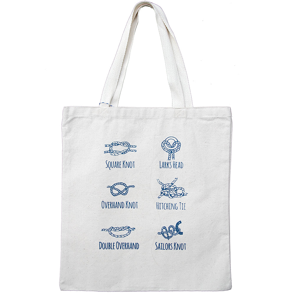 Knots Cotton Tote Bag