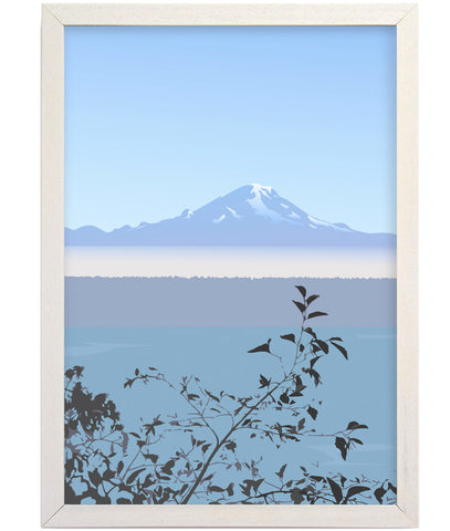 Mount Rainer Art Print