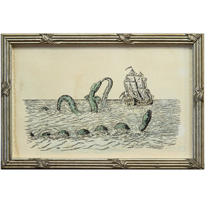 Sea Serpent Art Print