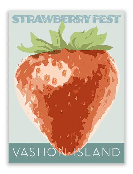 Strawberry Fest Art Print