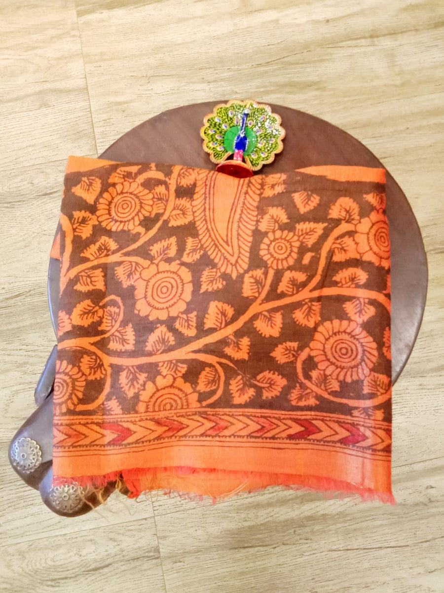 Pure Silk- Kalamkari Blouse