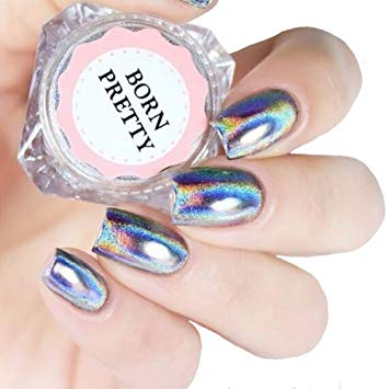 Born Pretty Chrome Rainbow Holographic