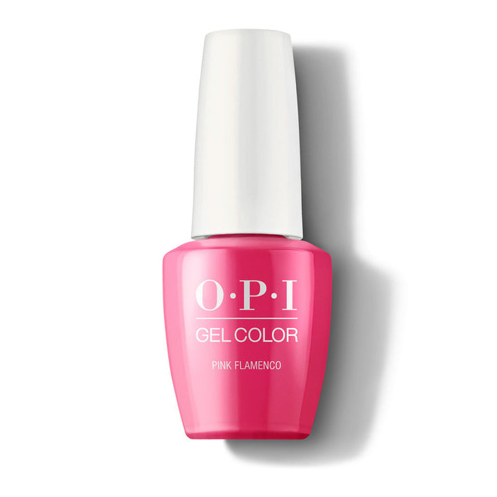 opi gel e44 pink flamenco