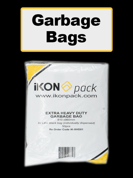IKON Garbage Bag 8DenyL - Deny5pcs