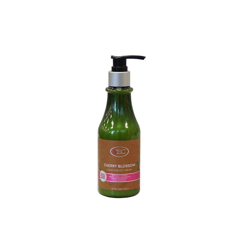 TSC Organic Hand - Body Lotion - Cherry Blossom 8oz
