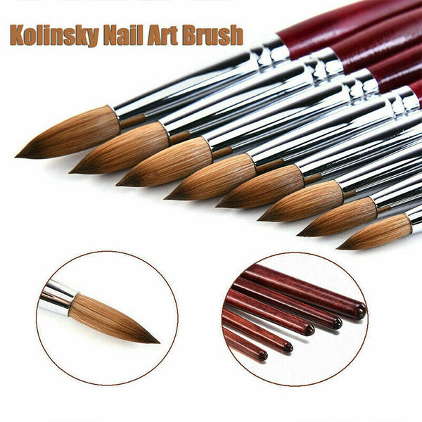 Rosewood Acrylic Brush