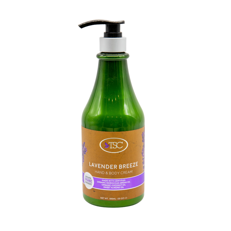 TSC Organic Hand - Body Lotion - Lavender Breeze 30oz