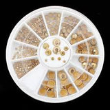 Gold Rhinestone Wheel