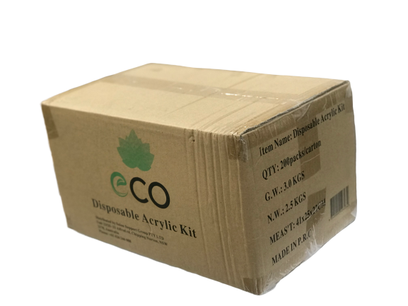 Eco Acrylic Kit 200/pack