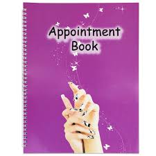Appointment Book 4 Columns