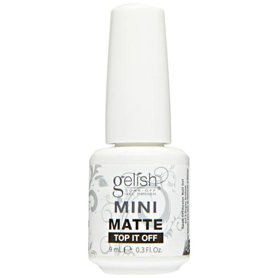 Gelish Matte Top Mini