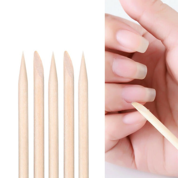 Wooden Stick Cuticle Pusher