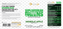 Load image into Gallery viewer, Superhuman Greens 345g
