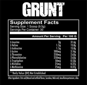 Grunt (285g)-REDCON1-Supplement Mad