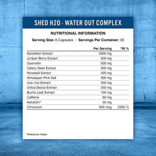 Load image into Gallery viewer, Shed H20 - Water Out Complex