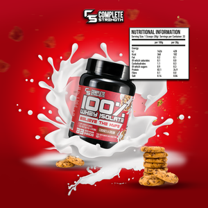 Whey Isolate 1kg + Free Shaker