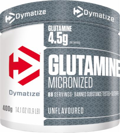 Micronized Glutamine (400g)-Dymatize-Supplement Mad