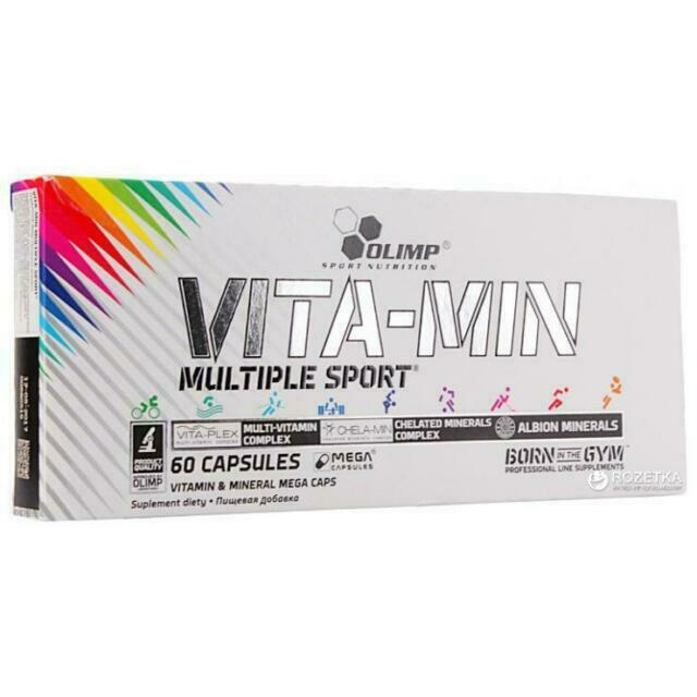 Vita-Min Multiple Sport (60 caps)