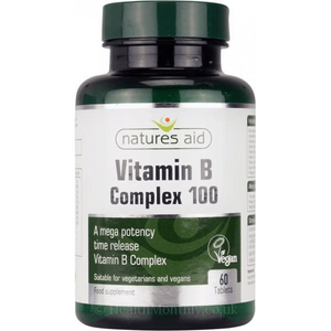 Vitamin B Complex (60)-Natures Aid-Supplement Mad