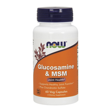 Load image into Gallery viewer, Glucosamine & MSM (60 vcaps)