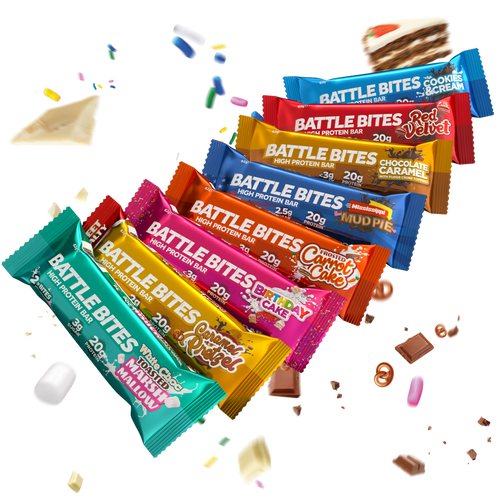 Battle Bites Variety Pack (8)