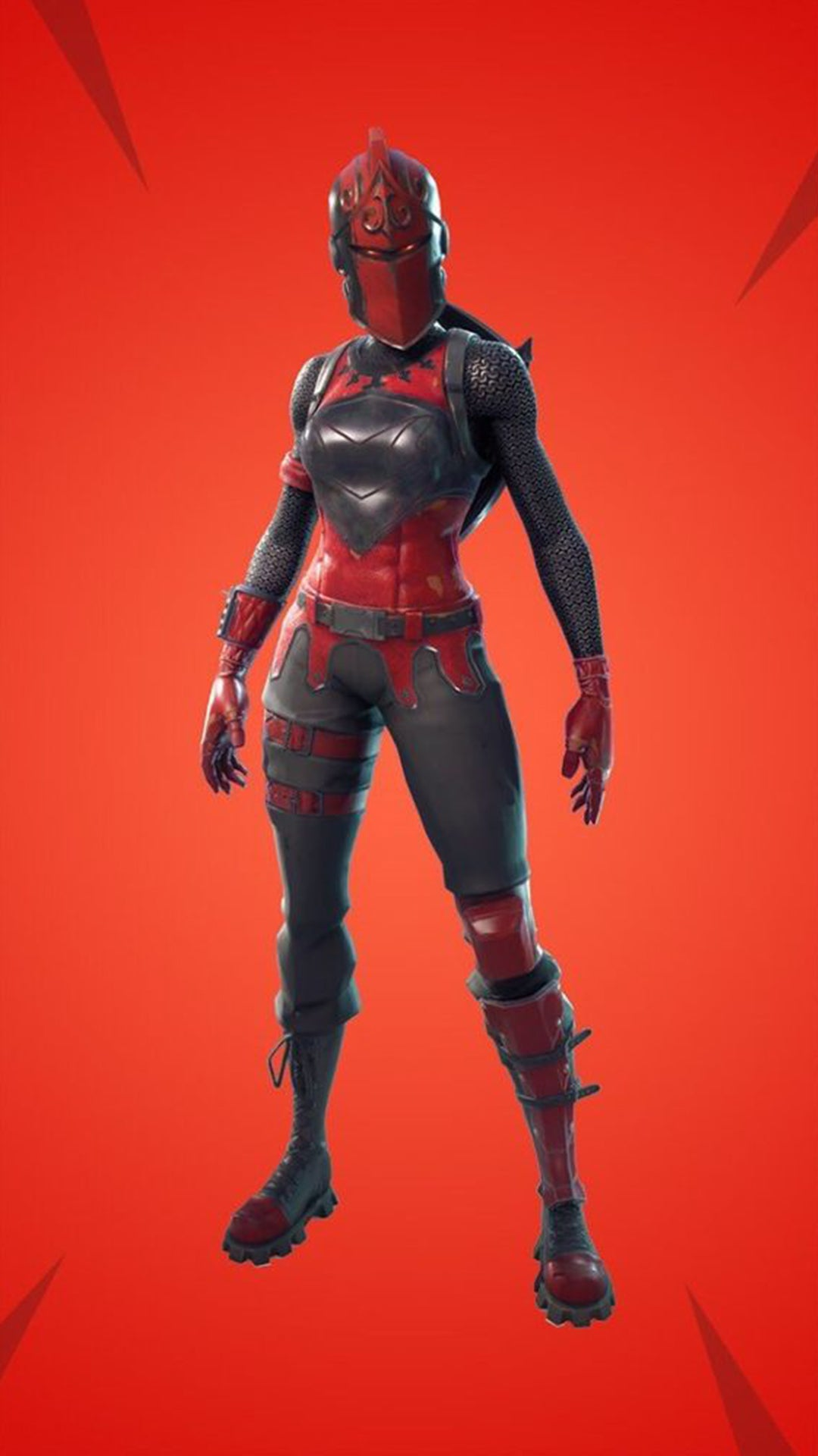 Cool Red Knight Phone Wallpaper Phone 2019 - Fortnite ...