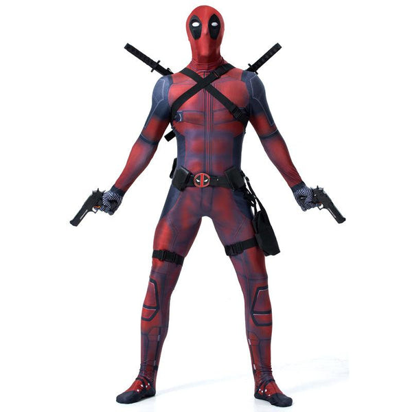 Fortnite Deadpool Cosplay Costume With Headgear for Adult