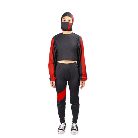 Fortnite Ikonik Costumes Suit for Girls Halloween Supplies