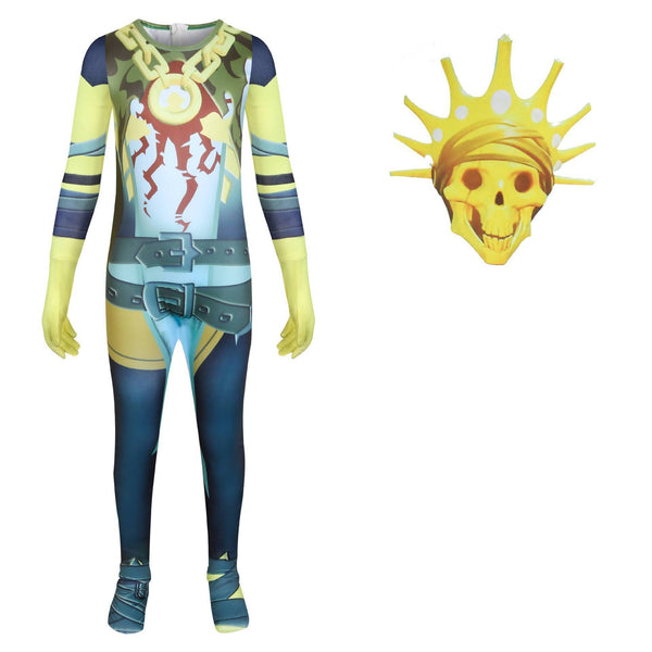 Fortnite Oro Costume Jumpsuit Suit Halloween Supplies for Kids