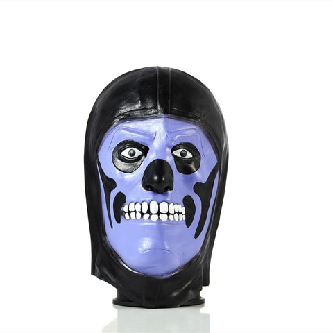 Kids Fortnite Purple Skull Trooper Costume Mask Cosplay Prop