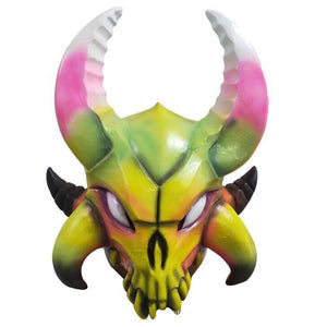 Fortnite Ragnarok Colorful Latex Mask Costume Prop Halloween Party