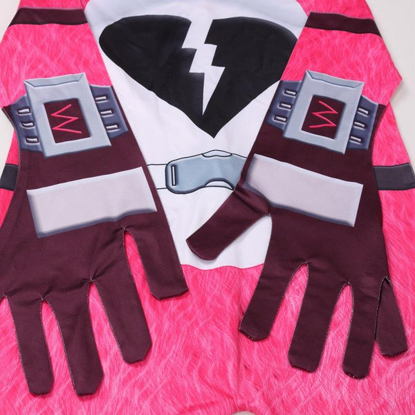 Kids Cuddle Team Leader  Costume Fortnite Jumpsuit With Mask Halloween Costume Party