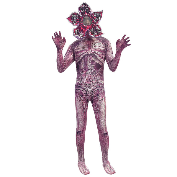 Kids Demogorgon Costume with Chomper Mask Fortnite Costume Party