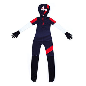 Kids Ikonik Hooded Jumpsuit Fortnite Costume Onesie Cosplay Costume For Halloween Costume