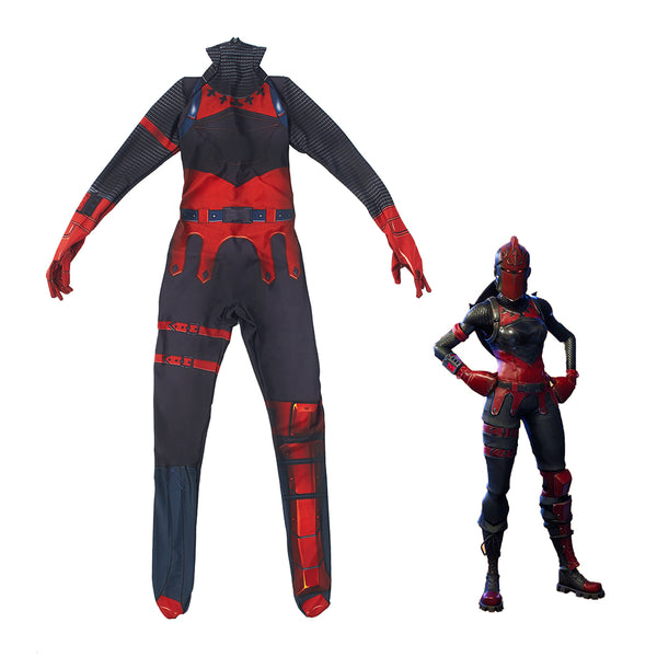 Kids Red Knight Fortnite The Red Menace Costume with Mask