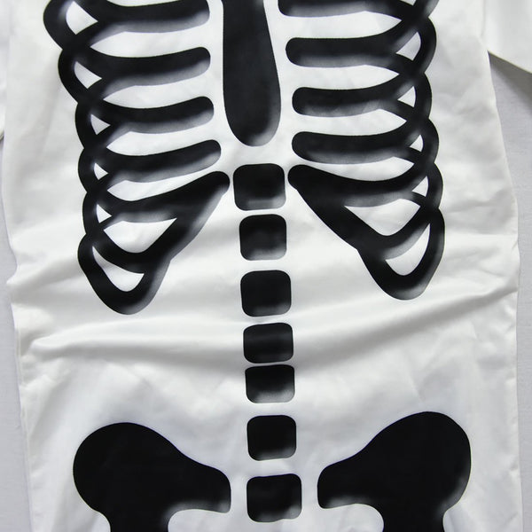 Kids Marshmello Skeleton Jumpsuit Fortnite Costume for Halloween