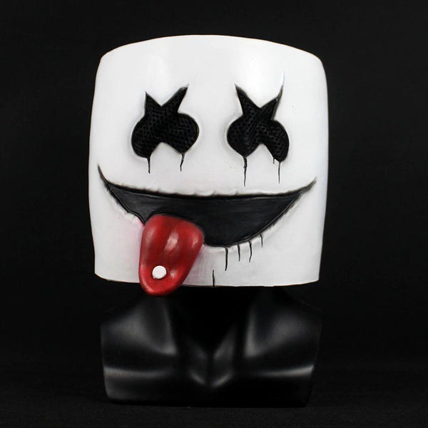 New DJ Marshmello Mask Nightclub Helmelt Masks Party Prop