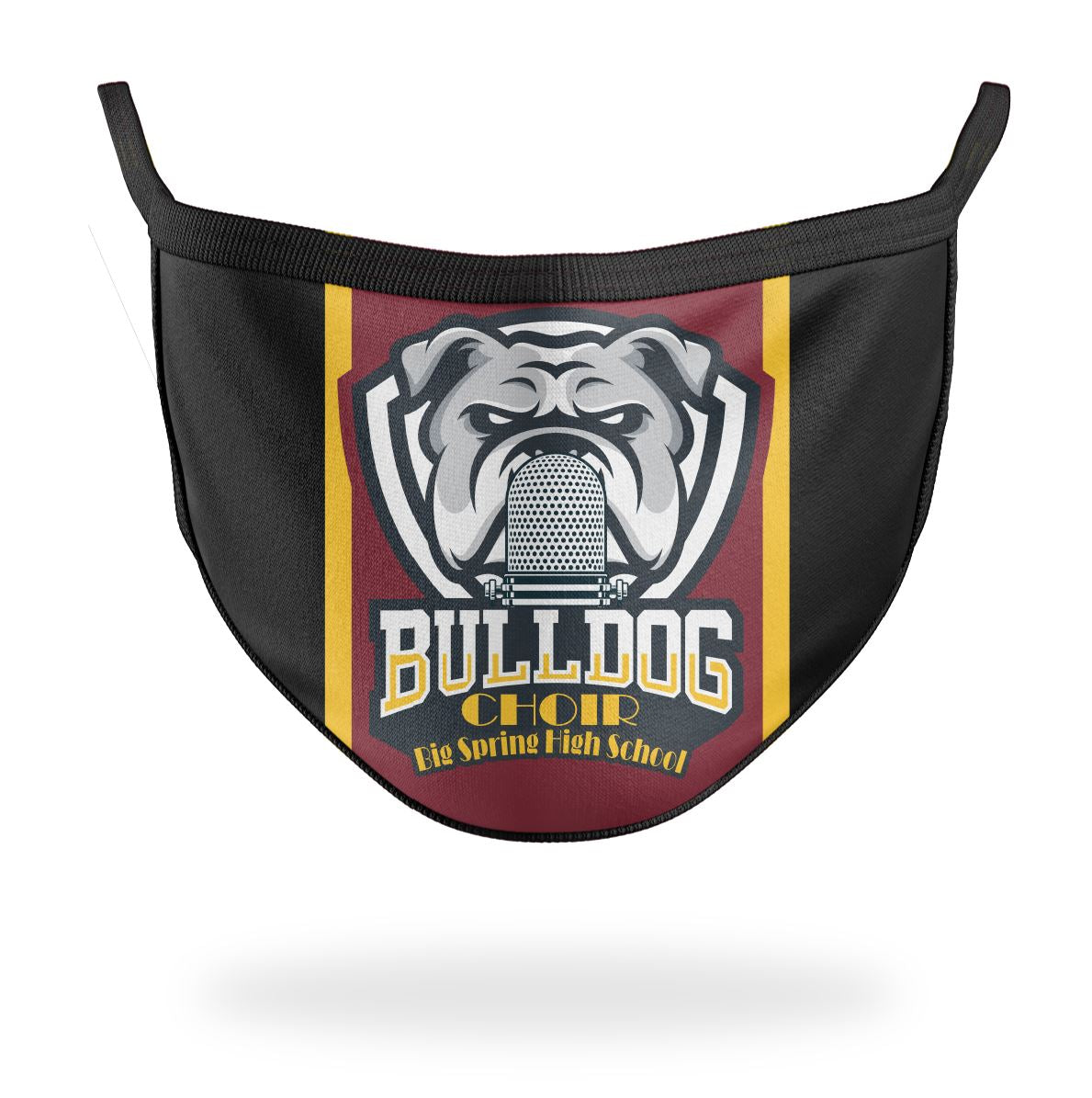 Bulldog Choir Mask