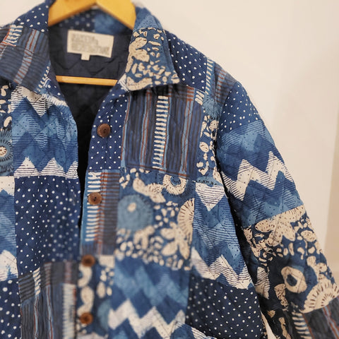 Limited edition 'Scraps' patchwork jacket