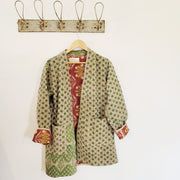 Kantha short robe - SMALL