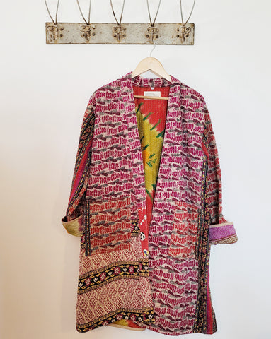 Kantha long robe - large