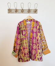 Kantha short robe - x large