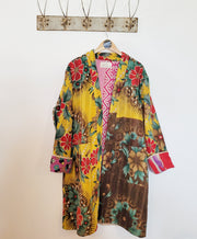 Kantha long robe - x large