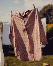 Block printed night shirts- Juniper