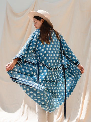 INDIGO ROBE- in collaboration with FRANK Water Charity