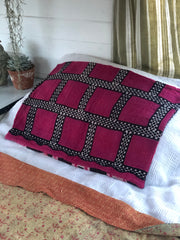 Kantha cushion cover- rectangle